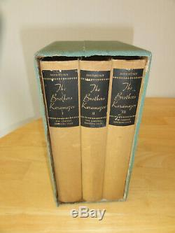 1933 THE BROTHERS KARAMAZOV, SIGNED, #663 of 1500, Limited Editions Club