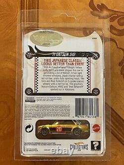2020 Hot Wheels RLC Gold'71 Datsun 510 Real Riders Red Line Club