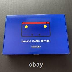 3DS CHOTTO Mario Edition Club Nintendo Limited Game Console portable Rare New J