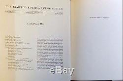 All The King's Men by Robert Penn Warrren Limited Editions Club 1989 Signed withLt
