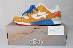 Asics Gel Lyte III Rivington Club Honey Gold Men's 8.5 limited edition 216 pair