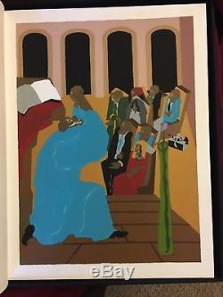 BIBLE Jacob Lawrence FIRST BOOK MOSES, GENESIS Limited Editions Club Signed