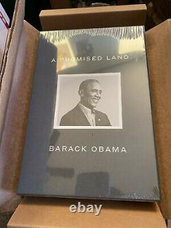 Barack Obama A Promised Land Book Deluxe Signed Edition 2020 Limited Edition