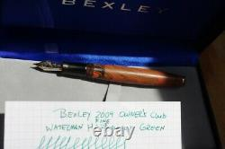 Bexley 2009 Owners Club, Fine nib point, limited edition number 65 of 116