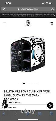 Billionaire Boys Club X Private Label Glow In The Dark Backpack Ds