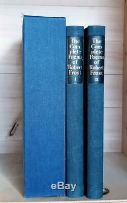 Complete Poems of Robert Frost Signed 1950 Limited Editions Club Thomas Nason
