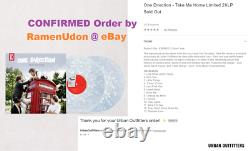 Confirmed Order One Direction Take Me Home Urban Outfitters UO 2XLP Vinyl