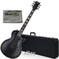 ESP LEC256BLKS LTD EC 256 BLKS Electric Guitar with cleaning cloth and hard c