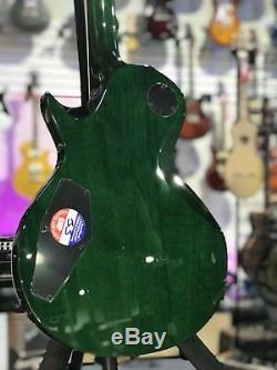ESP LTD EC-1000 Electric Guitar Flame Maple Top Seymour Duncan See Thru Green