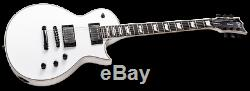 ESP LTD EC-1001T CTM LH Snow White SW Left-Handed Electric Guitar + Free Gig Bag