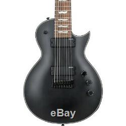 ESP LTD EC-258 8-String Electric Guitar Satin Black LN