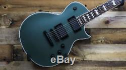 ESP LTD EC-401 MGS Military Green Satin Electric Guitar with EMG Pickups