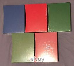 Fairy Book by Folio Society Blue, Red, Green, Yellow, Pink