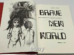 Folio Society BRAVE NEW WORLD Aldous Huxley Collectors LIMITED Edition SCARCE
