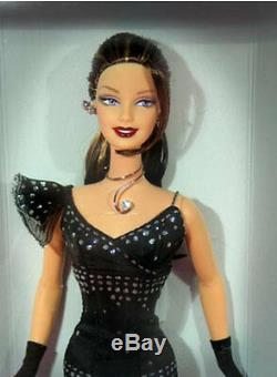 Free Shipping! Hollywood Divine Brunette Barbie doll NRFB Club Exclusive