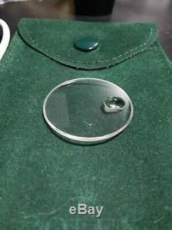 Genuine Rolex 295 Sapphire Crystal Men Watch 295c with LEC with scratch