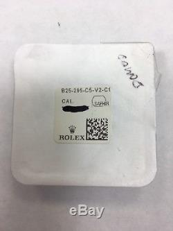 Genuine Rolex Sapphire Crystal 25-295-C5-V2 DOMED Used, LEC New Gasket 29-295-1
