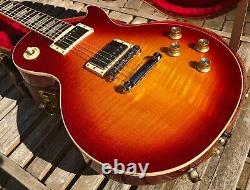 Gibson Les Paul Traditional 2019 Heritage Cherry Sunburst Flame Top & Case