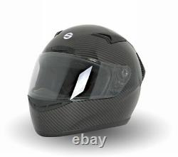 Helmet SPARCO CLUB X-1 X1 CARBON LIMITED EDITION Full Face RALLY TRACK DAY