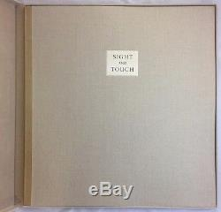Huge 1/300 Limited Editions Club Sight and Touch Signed Balthus and Octavio Paz