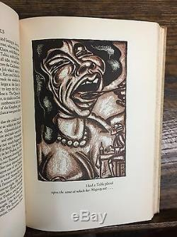 Jonathan Swift Gulliver Limited Editions Club 1929 signed by artist