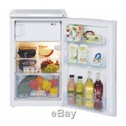 LEC R5010W 103L Under Counter Fridge, White with Icebox, Auto Defrost, Low Noise