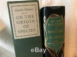 LIMITED EDITIONS CLUB CHARLES DARWIN ORIGIN OF THE SPECIES in slipcase LANDACRE