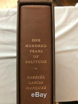 LIMITED first in SLIPCASE 100 YEARS OF SOLITUDE by GABRIEL GARCIA MARQUEZ LEC