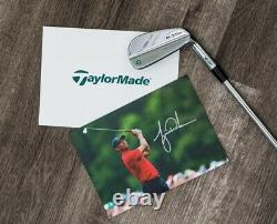 Limited Edition TaylorMade Tiger Woods Masters Commemorative Iron Set