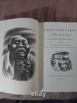 Limited Edition UNCLE TOM'S CABIN signed by Miguel Covarrubias