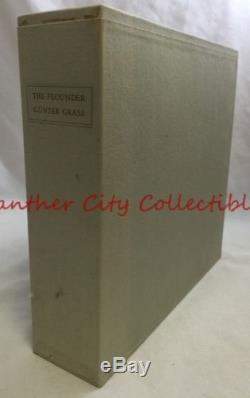 Limited Editions Club 3v Set The Flounder Illustrated Gunter Grass Signed
