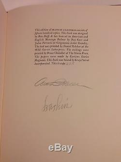 Limited Editions Club Death of a Salesman 1984 signed by Arthur Miller