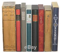 Limited Editions Club Lot of 8 Very Good to Near Fine with Slipcases