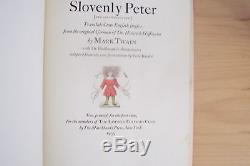 Limited Editions Club Slovenly Peter Mark Twain