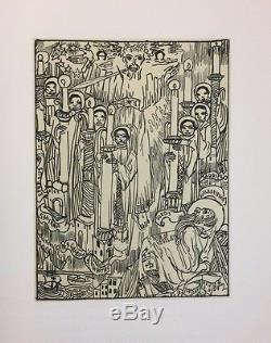 Limited Editions Club The Revelation of Saint John the Divine Allan Rohan Crite