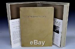 Limited Editions Club Wuthering Heights Emily Bronte Balthus Signed LEC Rare