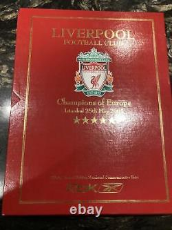 Liverpool Foootball Club 2005 Champions League Final Limited Edition Shirt