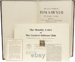 Mark TWAIN Adventures of Tom Sawyer Limited Editions Club 1939 SIGNED