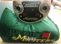 Masters 2020 Scotty Cameron Flowback 5.5 Limited Edition Putter Dustin Johnson