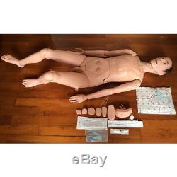 Multifunctional Nursing Training Manikin Model Mannequin Patient Female/Male NEW