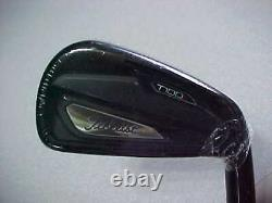 NEW TITLEIST T100s 4-PW +48 LIMITED EDITION BLACK IRONS FORGED 4 5 6 7 8 9 PW 48