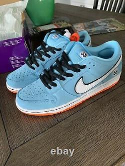 Nike SB Dunk Low Club 58 Gulf Blue Chill Size 10 IN HAND READY TO SHIP