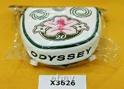 Odyssey 2020 Masters Limited Edition Mallet Putter Leather Golf Club Headcover