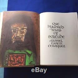 One Hundred Years Of Solitude Limited Editions Club Signed By Gregory Rabassa