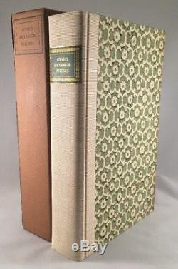 Ovid's Metamorphoses Limited Editions Club Signed by Engraver 881/1500