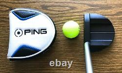 PING Vault Oslo STEALTH Putter, 35, RH, Limited Edition, Putter Cover, New Grip