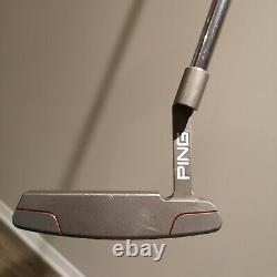 Ping Anser Jas WTi Milled Titanium Putter 34 RH Limited Edition Made in USA