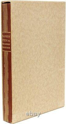 SHELLEY, Mary Frankenstein Limited Editions Club 1934 SIGNED
