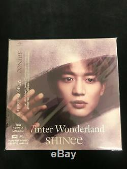 SHINee Winter Wonderland Official Fan Club Limited Edition CD DVD Complete 6 Set