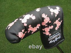 Scotty Cameron 2002 My Girl Limited Edition BLACK PEARL Newport with Headcover NEW